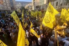 الفلسطينيون في جنوب لبنان يجددون العهد والبيعة للرئيس والقيادة