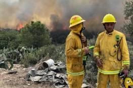 توقف حركة القطارات بحيفا بسبب الحرائق وتخوّفات إسرائيلية من اندلاع المزيد