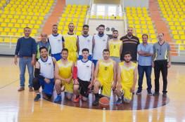 فوز منتخب النجاح بلقب بطولة الجامعات بكرة السلة