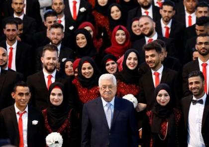 تحت رعاية الرئيس.. فتح ترعى حفل زفاف جماعي في غزة