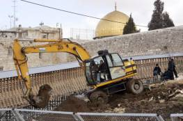 حماس: الحفريات بمحيط الأقصى جريمة نكراء
