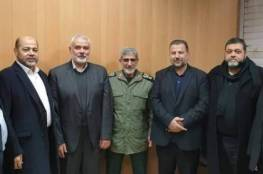 قائد فيلق القدس الجديد يلتقي قادة فصائل فلسطينية في طهران..