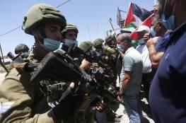 إصابة 9 مواطنين خلال قمع الاحتلال اعتصاما اسبوعيا ضد الاستيطان في القدس