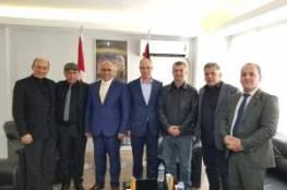 اتفاقية تعاون بين غرفة تجارة وصناعة جنين واتحاد رجال الأعمال الفلسطيني التركي