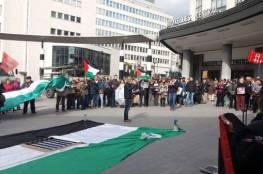 الجالية الفلسطينية في بلجيكا تطالب برلمانيين بإلغاء ارسال بعثة اقتصادية لإسرائيل
