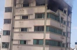 غارات عنيفة للاحتلال على غزة.. وارتفاع حصيلة الشهداء (صور وفيديو)
