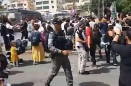 الاحتلال يعتدي على أهالي الشيخ جراح والمتضامنين