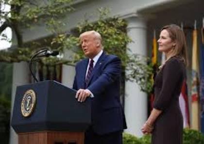 مرشحة ترامب للمحكمة العليا ترفض الخلط بين إيمانها والقضاء