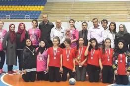 مديرية تربية الخليل تحقق لقب بطولة كرة اليد للإناث