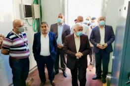 محافظ بيت لحم يفتتح محطة الأوكسجين في المركز الوطني للتأهيل