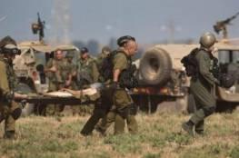 إصابة جندي إسرائيلي على حدود قطاع غزة