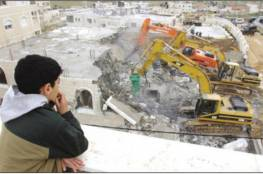 """""""بتسيلم"""": إسرائيل هدمت خلال حزيران الماضي 43 منزلًا في الضفة"""