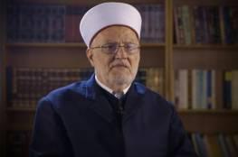 """الشيخ صبري: بيانات الشجب والاستنكار لا تردع الاحتلال و""""إسرائيل"""" ستفشل في تنفيذ مخططاتها"""