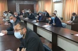 صور.. تفاصيل اجتماع صحة غزة مع الفصائل الفلسطينية اليوم