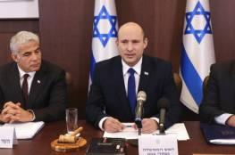 إعلام إسرائيلي: قضيتان أساسيتان تحكمان قرار حكومة بينيت بشأن غزة