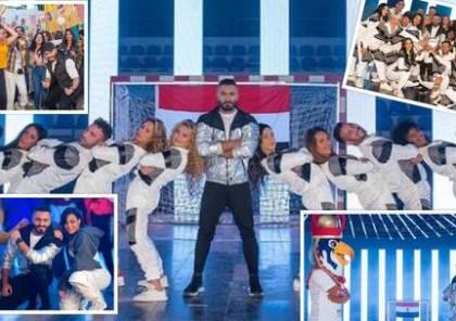 """صور وفيديو ..تامر حسني يعلن عن أغنية حفل افتتاح كأس العالم لكرة اليد """"مصر 2021"""