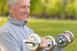 هكذا يمكنك الاحتفاظ  بعضلاتك في الشيخوخة!