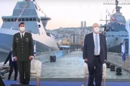"""إسرائيل تتسلم بارجة """"ساعر- 6"""" أكثر السفن الحربية تطورا"""
