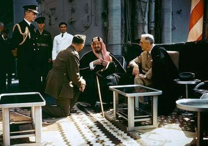 رسالة أمريكية تكشف دفاع ملك السعودية عبدالعزيز عن فلسطين