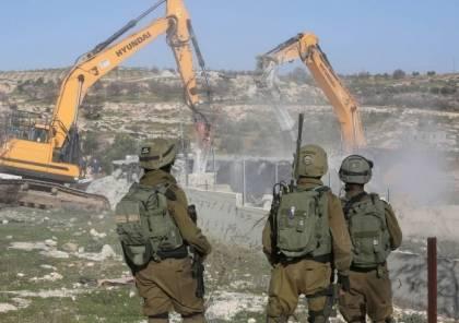 السلطات الإسرائيلية تهدم منزلا في كفر قاسم في أراضي48