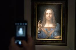 """بيع لوحة """"سلفاتور مندي"""" لدافنشي بـ 450 مليون دولار"""