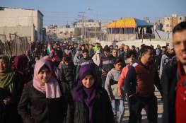 بالصور.. شهيد و48 اصابة بينها مسعفين وصحفيين شرق قطاع غزة