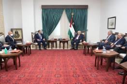 تفاصيل اجتماع الرئيس عباس مع رئيس المخابرات المصرية..