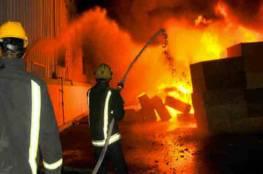 إخماد حريق شب في منزل وسط خانيونس