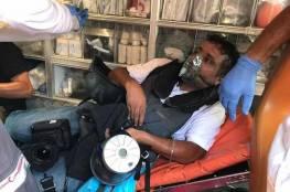 إصابة صحفي برصاص الاحتلال المعدني خلال مواجهات في بيتا