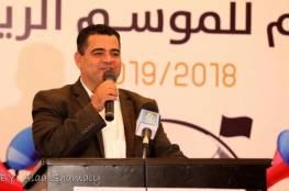 صور.. هنية يفتتح المقر الإداري الجديد والصالة الرياضية لنادي الجزيرة