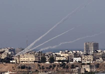 اسرائيل : 4 صواريخ اطلقت من غزة صوب مستوطنات الغلاف مساء اليوم