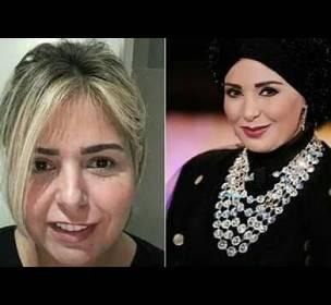 الفنانة-المصرية-صابرين-تفاجئ-جمهورها-بخلع-الحجاب-(صور)