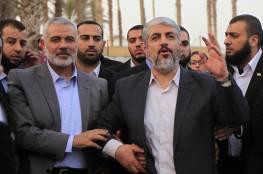 """هنية ومشعل يصلان عمّان الجمعة.. و""""حماس"""" تشكر العاهل الأردني"""