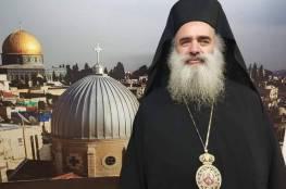 """المطران عطا الله حنا: لا نعترف بما يسمى """"المسيحية الصهيونية """""""