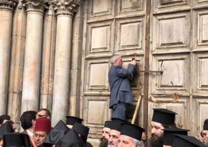 تأجيل فتح أبواب كنيسة القيامة