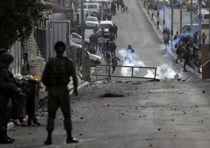 إصابة ضابط إسرائيلي جراء رشقه بالحجارة شرقي القدس