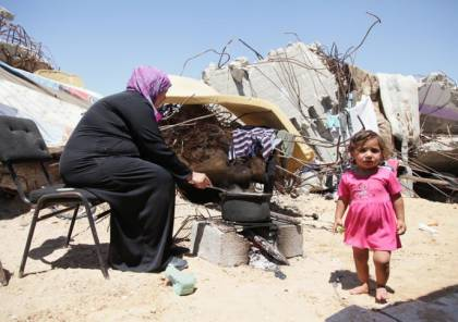 شبكة المنظمات الأهلية: 68% من أهالي غزة يعانون انعدام الأمن الغذائي