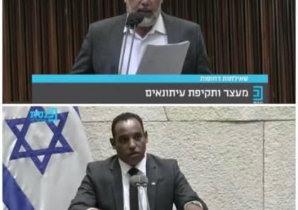 استجواب وزير الأمن الإسرائيلي حول الاعتداءات على الصحافيين