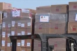 الأردن يسير أولى قوافل المساعدات الطبية العاجلة لفلسطين