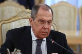 وزيرا خارجية روسيا واسرائيل يبحثان التسوية الفلسطينية الإسرائيلية وملف سوريا