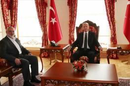 حماس تكشف تفاصيل رسالة هنية للرئيس التركي أردوغان بشأن حوارات القاهرة والانتخابات