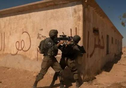 صور : تدريبات نوعية لقادة لواء جفعاتي لمواجهة محتملة بغزة