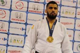 مصارع جزائري ينسحب من الجائزة الكبرى للجودو رفضا لمواجهة اسرائيلي