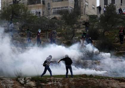 اشتباك.. شهيد وأكثر من 46 إصابة برصاص الاحتلال عند مدخل البيرة