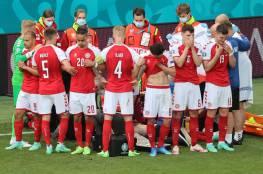 لاعبو منتخب الدنمارك يحتجون واليويفا يبرر