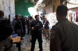 الاحتلال الاسرائيلي : عملية طعن في القدس القديمة واستشهاد المنفذ