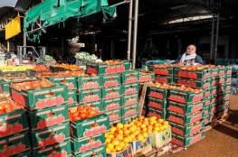 إسرائيل تمنع تصدير المنتجات الزراعية الفلسطينية الى العالم