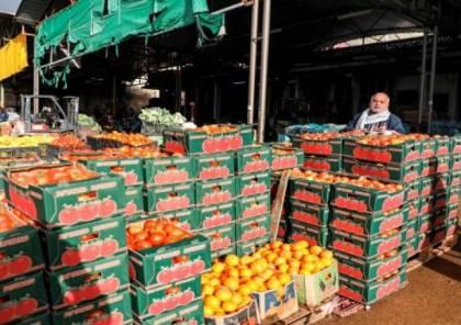 الإحصاء: انخفاض في أسعار المنتج الشهر الماضي