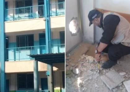 داخلية غزة: مدرسة الاونروا استهدفت بصاروخ موجه بالليزر ونسبة الخطأ فيه معدومة