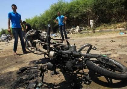 طائرة استطلاع اسرائيلية تقصف دراجة نارية في رفح جنوب قطاع غزة